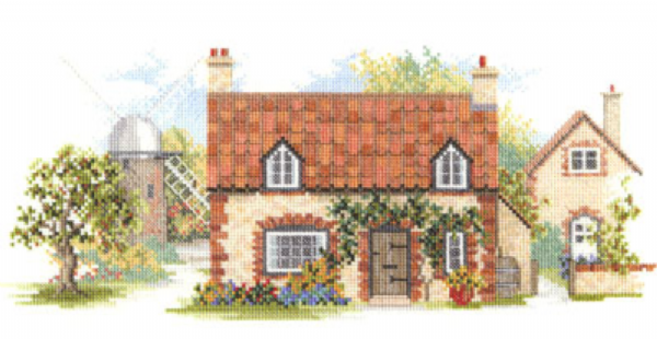 Old Mill Lane Cross Stitch Kit